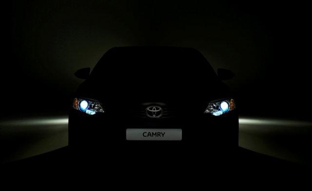 Обновленную Toyota Camry покажут на Московский автосалоне