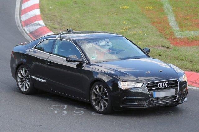 Audi начала тестирование нового A5 Coupe