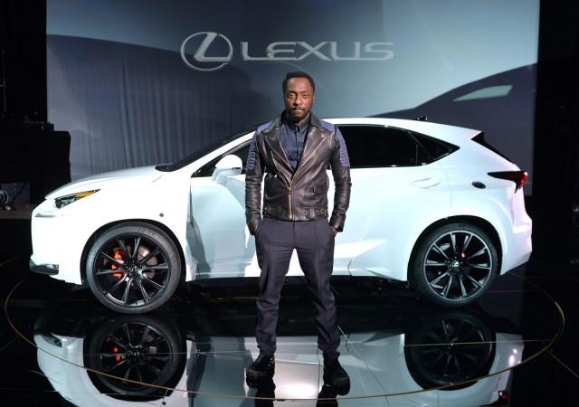 Спецверсия Lexus NX от Will. I. Am