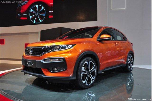 Honda XR-V дебютировал в Китае