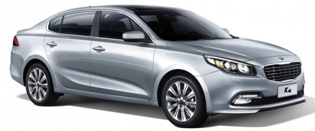Kia официально представила седан K4