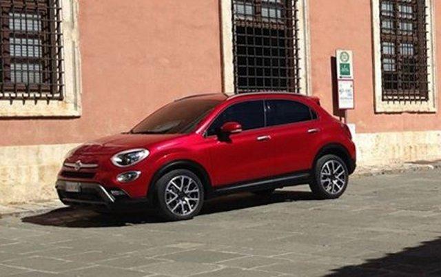 Шпионы застукали Fiat 500X без камуфляжа