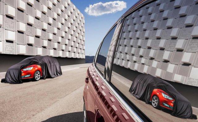 Ford приоткрыл обновленный C-MAX
