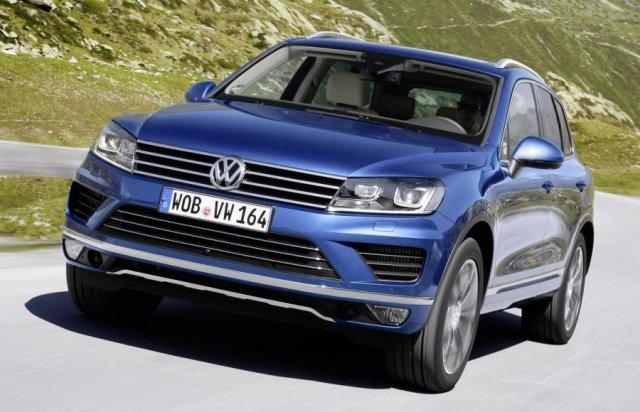 Volkswagen Touareg получил новый дизель