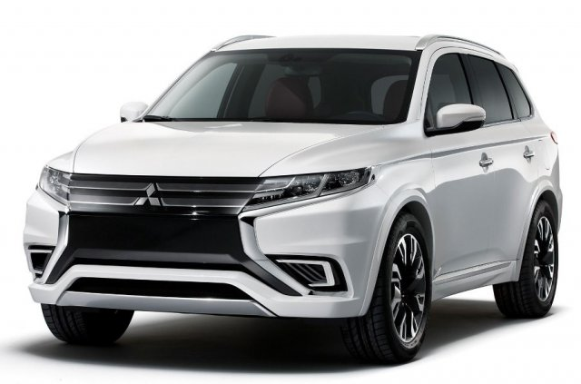 Mitsubishi рассекретила Outlander PHEV Concept-S
