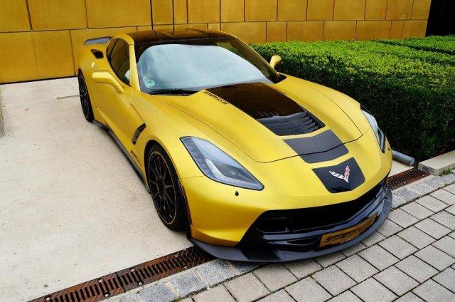 Немцы создали почти 600-сильный Chevy Corvette Stingray