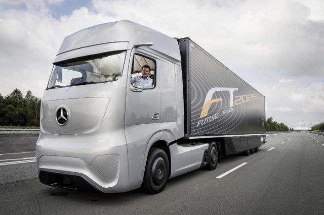Mercedes-Benz показал грузовик будущего
