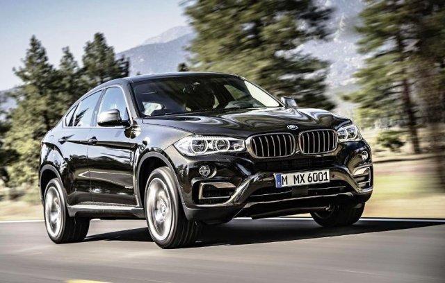 До России добрался новый BMW X6