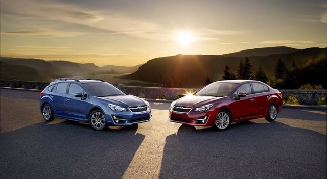 Subaru Impreza подверглась легкой подтяжке