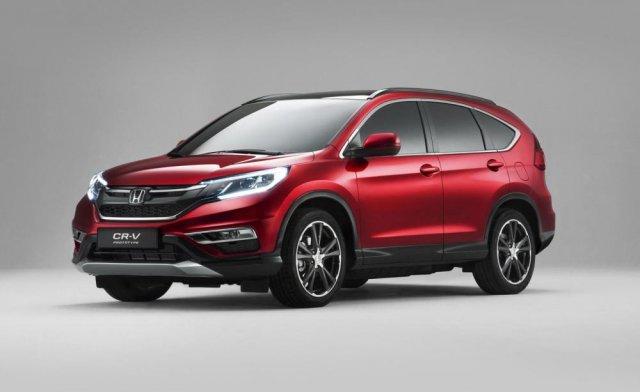Honda анонсировала европейскую версию 2015 CR-V