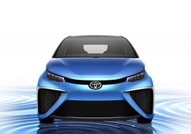 Водородный Toyota FCS представлен в Париже
