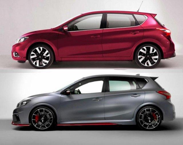Nissan Pulsar и Pulsar Nismo представлены в Париже