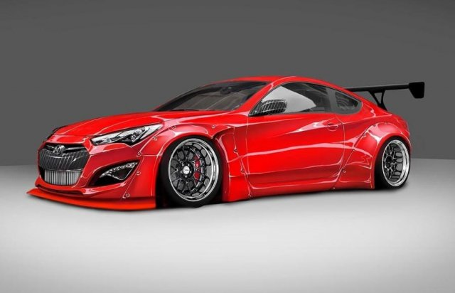 Hyundai создал 800-сильный Genesis