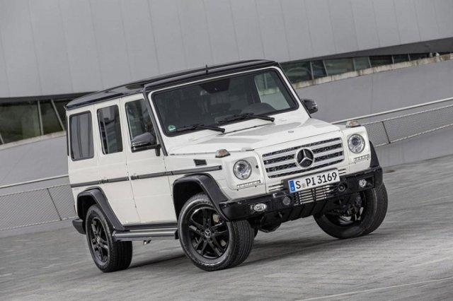 Mercedes создал юбилейный G-Class Edition 35