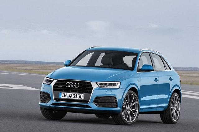 Audi немного обновила кроссовер Q3
