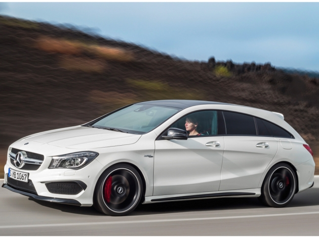 Mercedes-Benz представил универсал CLA Shooting Brake