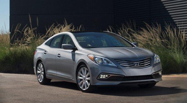 Hyundai слегка освежил седан Azera