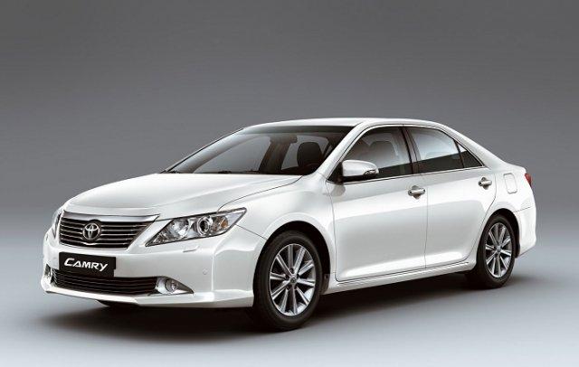 Toyota отзывает в России более 100 тысяч Camry