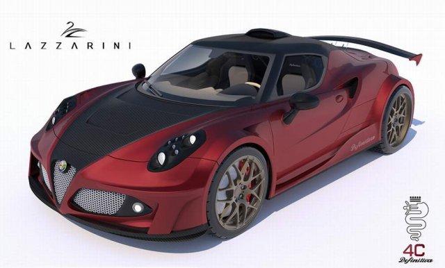 Из Alfa Romeo 4C сделали гиперкар