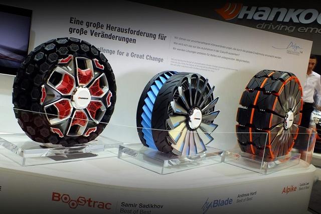 Новаторские шины от Hankook