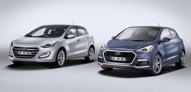 Hyundai слегка обновила i30 и i40