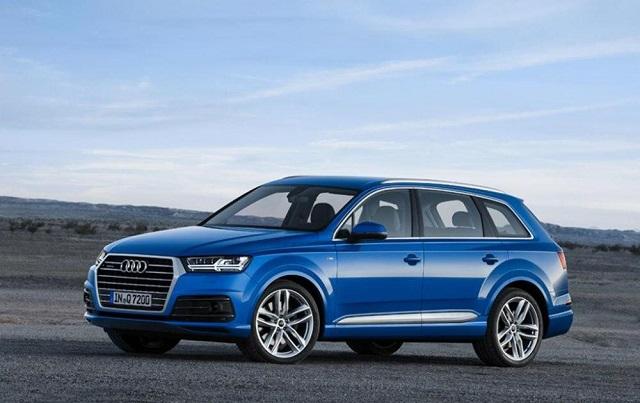 Досрочно рассекречен новый Audi Q7