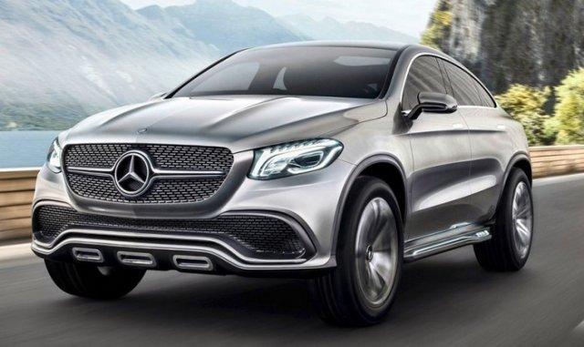 Новый Mercedes-Benz очень похож на BMW X6