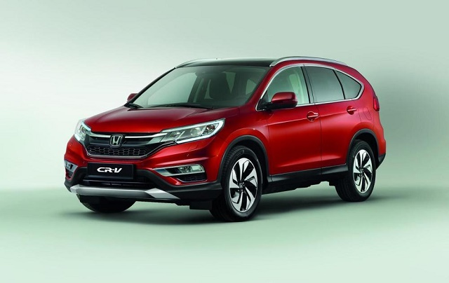 Весной на рынок выйдет фейслифтовая Honda CR-V