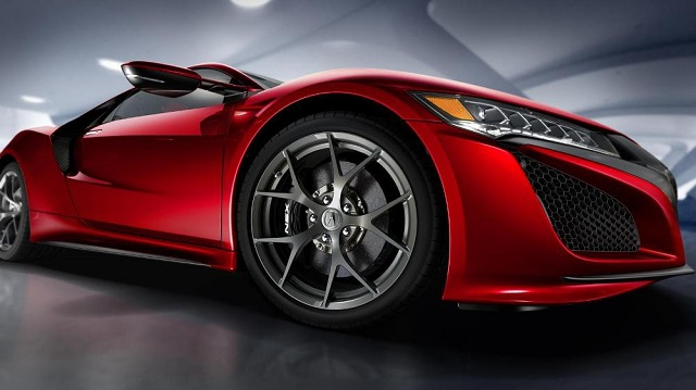 Серийная Acura NSX нового поколения прибыла в Детройт