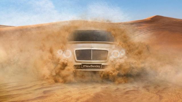 Bentley разрабатывает второй кроссовер