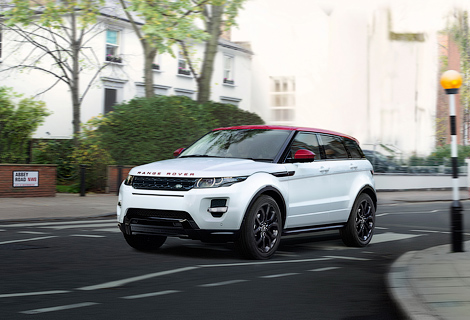 Range Rover Evoque посвятили улице Abbey Road