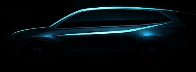 Honda показала профиль нового «Пилота»