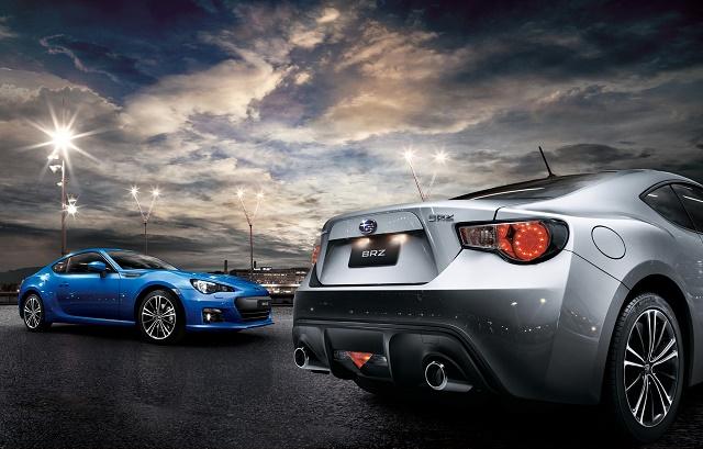 Subaru с учетом сезонности будет продавать BRZ в России