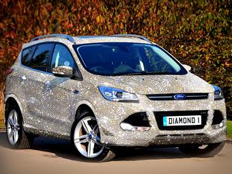 Ford Kuga с кристаллами Swarovski за 1,3 миллиона евро