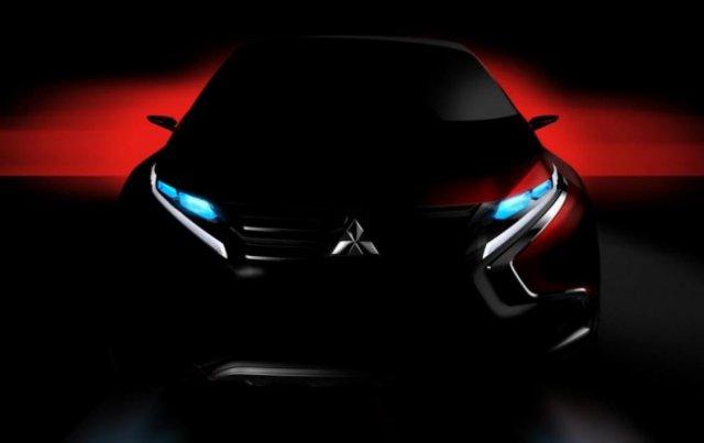 Mitsubishi покажет в Женеве моноприводный гибридный кроссовер