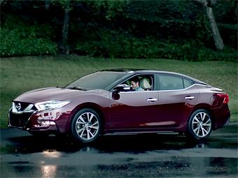 Nissan показал новую Maxima в рекламном ролике