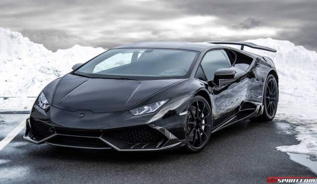Mansory создало 850-сильный Lamborghini Huracan