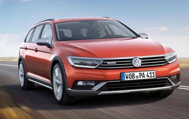VW показал вседорожную версию Passat