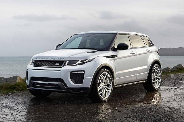 Land Rover обновил кроссовер Evoque