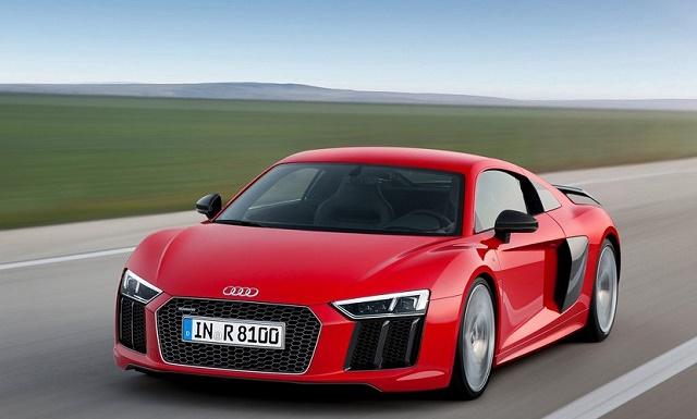 Новый суперкар Audi R8 оставили без V8