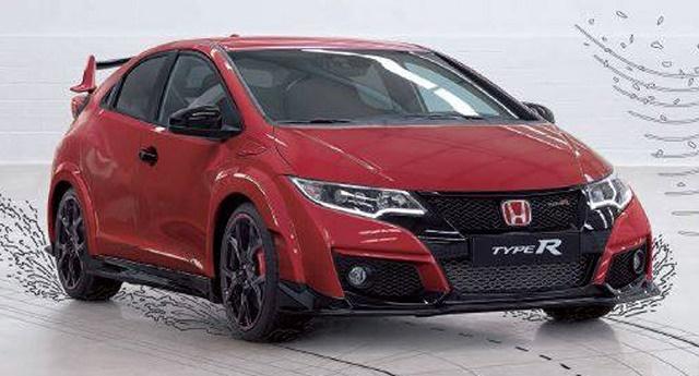 Honda Civic Type R: Внешность рассекречена