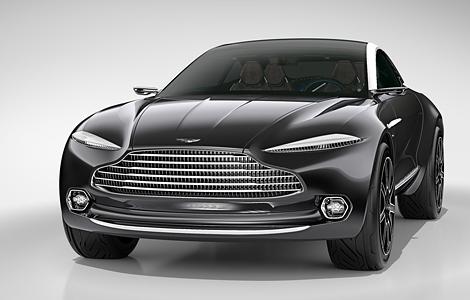 Aston Martin показал в Женеве концепт кроссовера