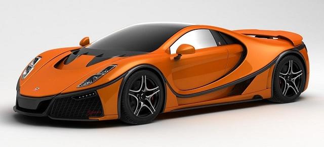Испанцы создали первый в мире суперкар с графеновым кузовом