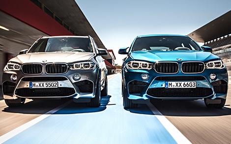 Названа рублевая стоимость новых BMW X5 M и X6 M