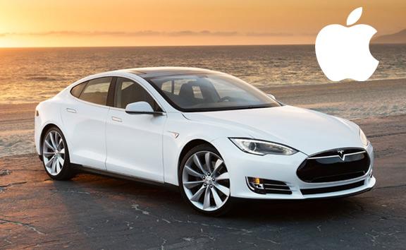 Apple примеряется к приобретению Tesla Motors