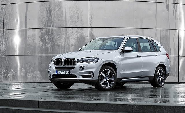 Гибридный вариант внедорожника BMW X5