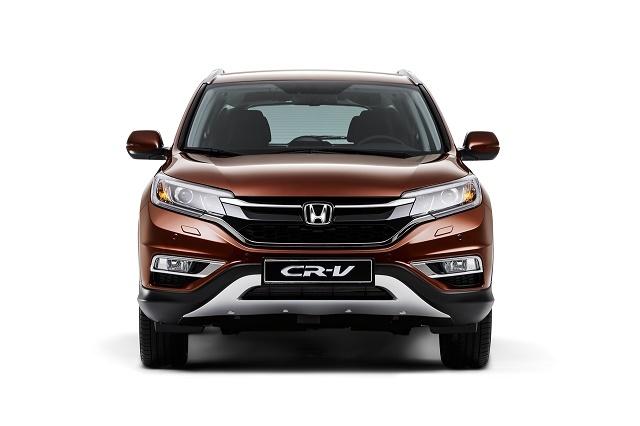 Обновленная Honda CR-V: теперь с передним приводом