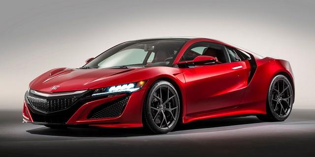 Honda NSX постарается установить рекорд на Нюрбургринге