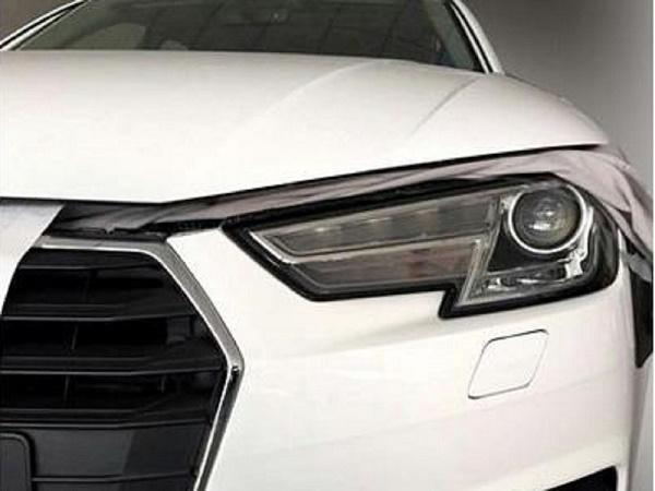 Первые фотографии новой Audi A4