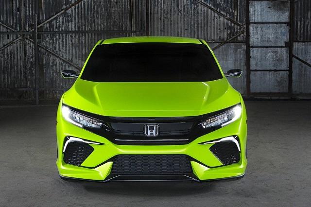 Honda представила предвестника нового Civic